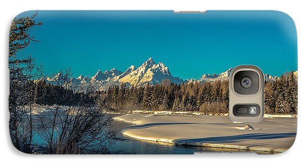 Galaxy Case featuring the photograph Sunrise At The Junction by Yeates Photography