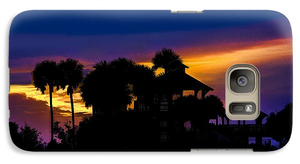 Galaxy Case featuring the photograph Sunrise Barefoot Mailman Park by Don Durfee