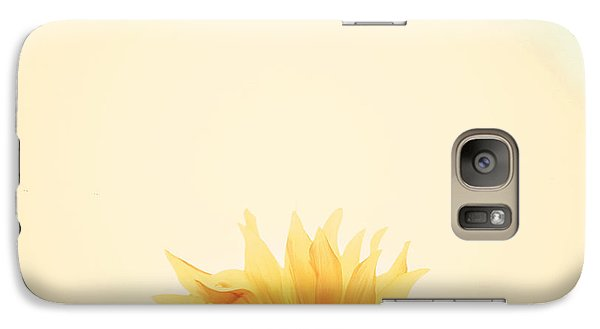 Sunflower Galaxy S7 Case - Sunrise by Carrie Ann Grippo-Pike