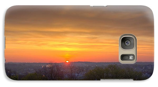 Galaxy Case featuring the photograph Sunrise by Daniel Sheldon