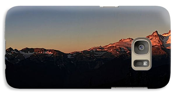 Galaxy Case featuring the photograph Sunrise by David Stine