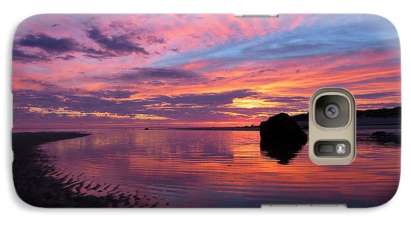 Galaxy Case featuring the photograph Sunrise Drama by Dianne Cowen