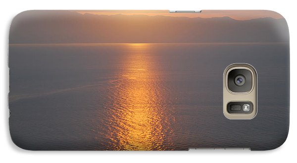 Galaxy Case featuring the photograph Sunrise Erikousa 1 by George Katechis