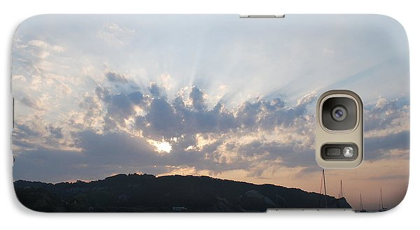 Galaxy Case featuring the photograph Sunrise by George Katechis