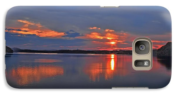 Galaxy Case featuring the photograph Sunrise by Geraldine DeBoer