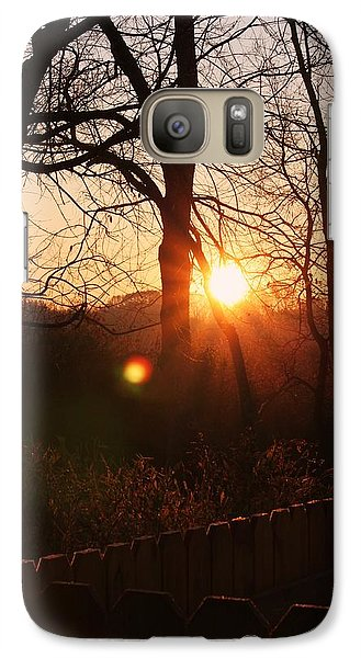 Galaxy Case featuring the photograph Sunrise In Hocking Hills by Haren Images- Kriss Haren