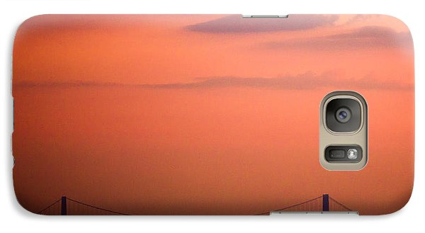 Galaxy Case featuring the photograph Sunrise In New York by Sara Frank