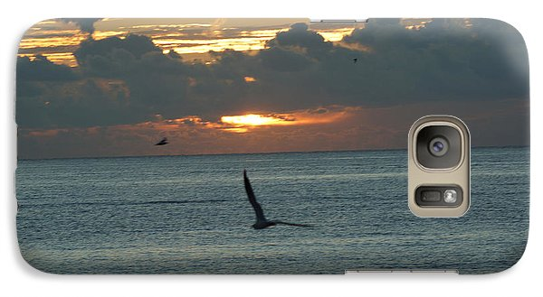 Galaxy Case featuring the photograph Sunrise In The Florida Riviera by Rafael Salazar