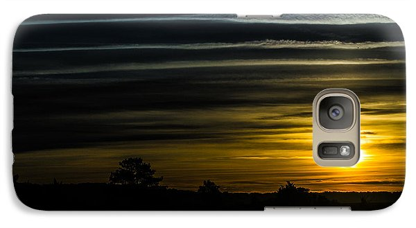 Galaxy Case featuring the photograph Sunrise In Virginia by Angela DeFrias