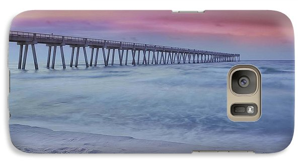 Galaxy Case featuring the photograph Sunrise In Winter by Renee Hardison