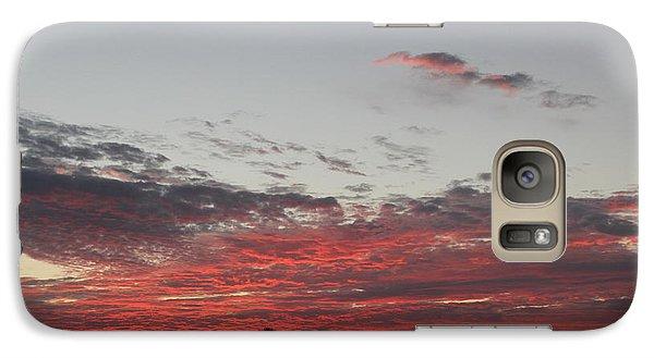 Galaxy Case featuring the photograph Sunrise by John Mathews