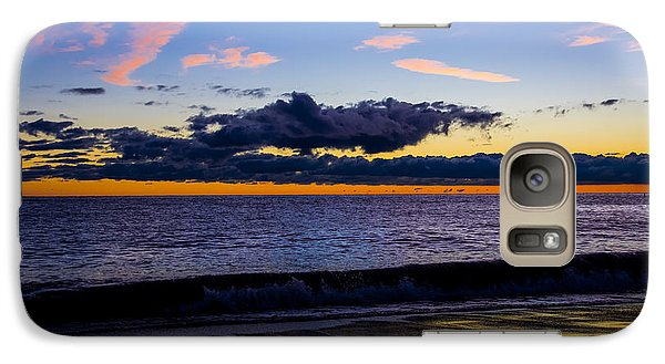 Galaxy Case featuring the photograph Sunrise Lake Michigan September 14th 2013 002 by Michael  Bennett