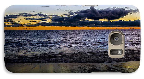Galaxy Case featuring the photograph Sunrise Lake Michigan September 14th 2013 003 by Michael  Bennett