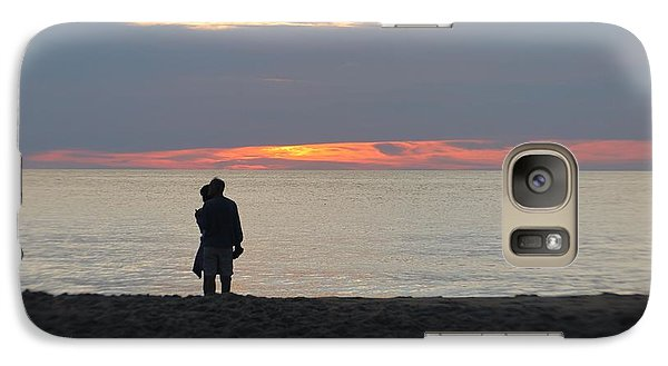 Galaxy Case featuring the photograph Sunrise Love by Robert Banach