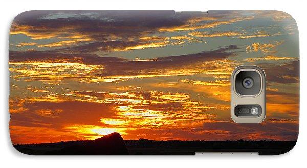 Galaxy Case featuring the photograph Sunrise Magic by Dianne Cowen