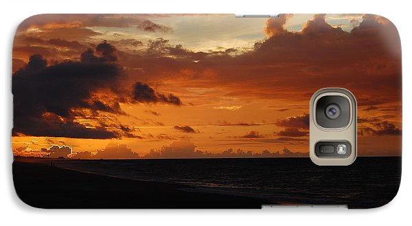 Galaxy Case featuring the photograph Sunrise  by Mim White