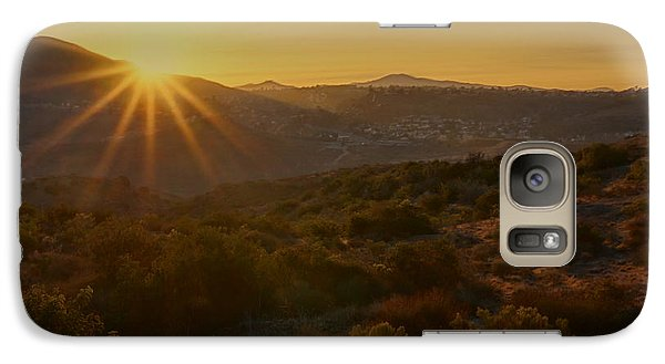 Galaxy Case featuring the photograph Sunrise Mission Trails San Diego  by Jeremy McKay