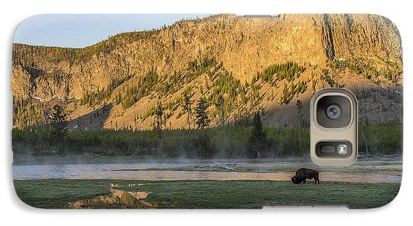 Sunrise Mt. Hayes Yellowstone National Park Galaxy S7 Case