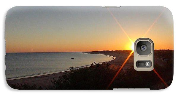 Galaxy Case featuring the photograph Sunrise Near Broome  Australia by Tony Mathews