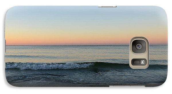 Galaxy Case featuring the photograph Sunrise On Alys Beach by Julia Wilcox