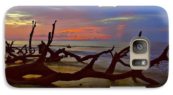 Sunrise On Bulls Island Galaxy S7 Case by Bill Barber