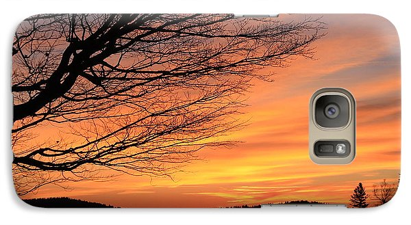 Galaxy Case featuring the photograph Sunrise On The Blue Ridge Parkway by Mountains to the Sea Photo