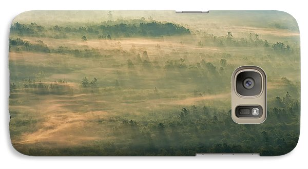 Galaxy Case featuring the photograph Sunrise On The Parkway - Blue Ridge Parkway - Asheville - North Carolina by Photography  By Sai