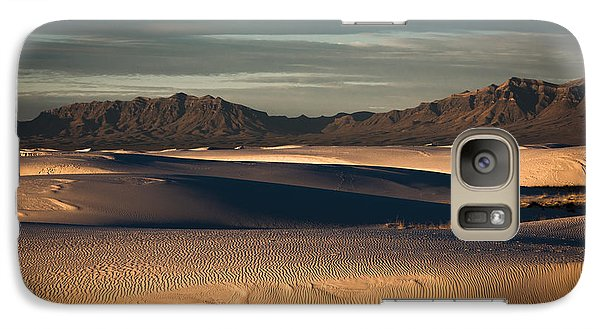 Galaxy Case featuring the photograph Sunrise On The Dunes by Sherry Davis