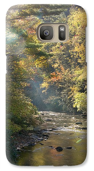 Galaxy Case featuring the photograph Sunrise On The Telico River by Robert Camp