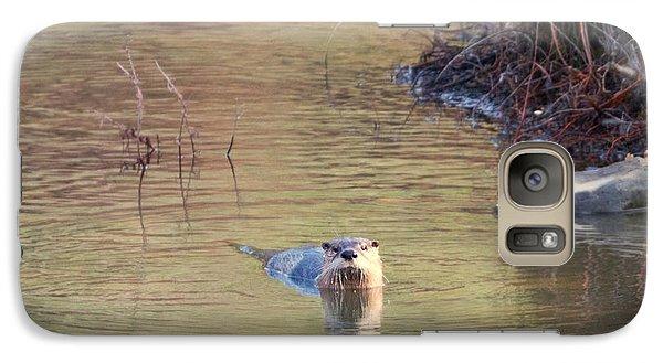 Sunrise Otter Galaxy S7 Case by Mike Dawson