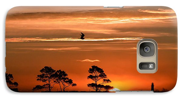 Galaxy Case featuring the photograph Sunrise Over Fenwick Island by Bill Swartwout