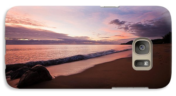 Galaxy Case featuring the photograph Sunrise Over Ocean by Carole Hinding