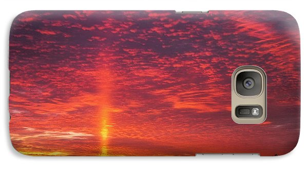 Galaxy Case featuring the photograph Sunrise Over Scandinavia by Trey Foerster
