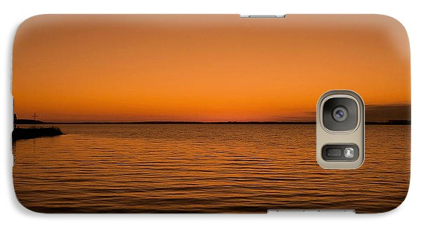 Galaxy Case featuring the photograph Sunrise Over The Lake Of Two Mountains - Qc by Juergen Weiss