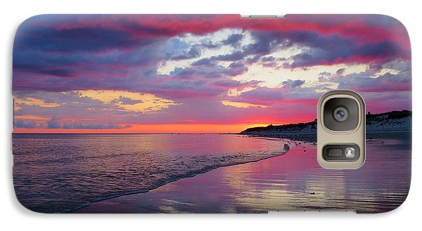 Galaxy Case featuring the photograph Sunrise Sizzle by Dianne Cowen