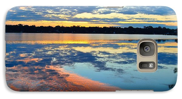 Galaxy Case featuring the photograph Sunrise Spectacular by Michele Kaiser
