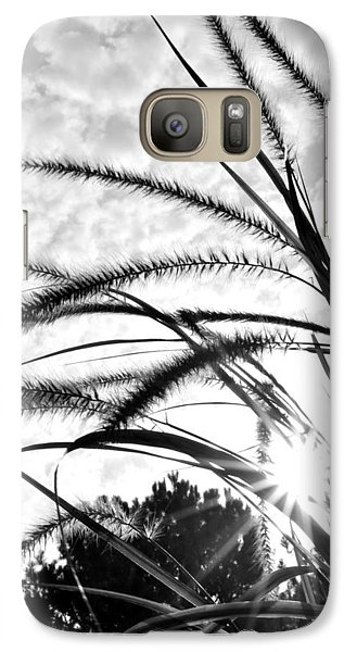 Galaxy Case featuring the photograph Sunrise Sunburst by Kelly Nowak