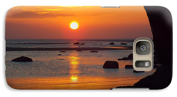 Galaxy Case featuring the photograph Sunrise Therapy by Dianne Cowen