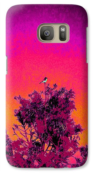Galaxy Case featuring the painting Sunrise To Sunset Nature Is Beautiful by David Mckinney