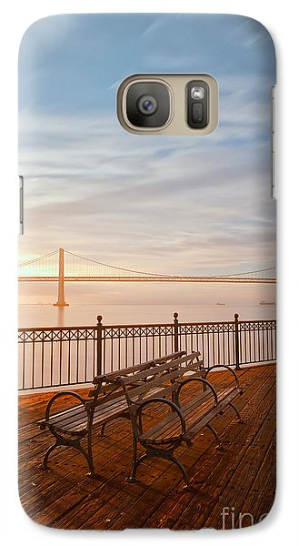 Galaxy Case featuring the photograph Sunrise To The Bay by Jonathan Nguyen