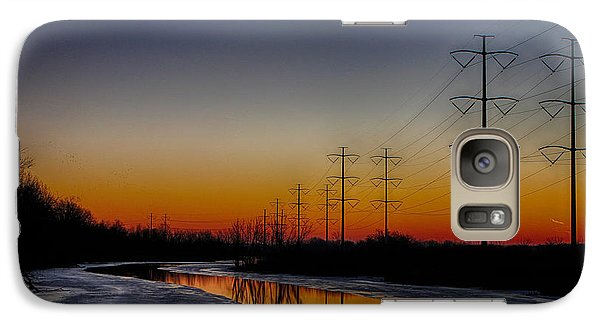 Galaxy Case featuring the photograph Sunrise Winter Reflection by Jerome Lynch