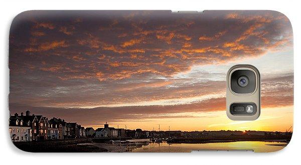 Galaxy Case featuring the digital art Sunrise Wivenhoe by David Davies