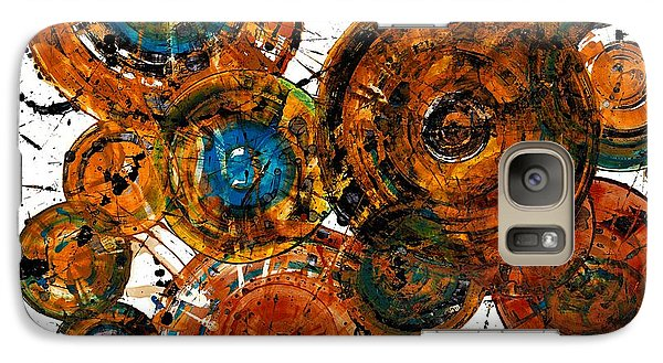 Galaxy Case featuring the painting Sunset - 1274.121412 by Kris Haas