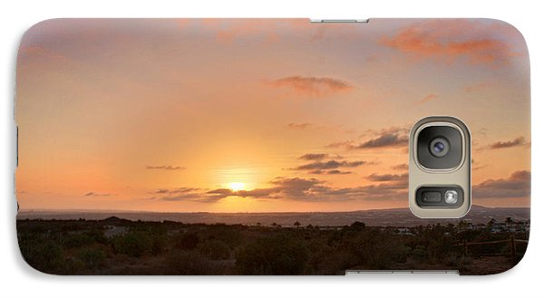 Galaxy Case featuring the photograph Sunset @ Rim Trail by Jeremy McKay