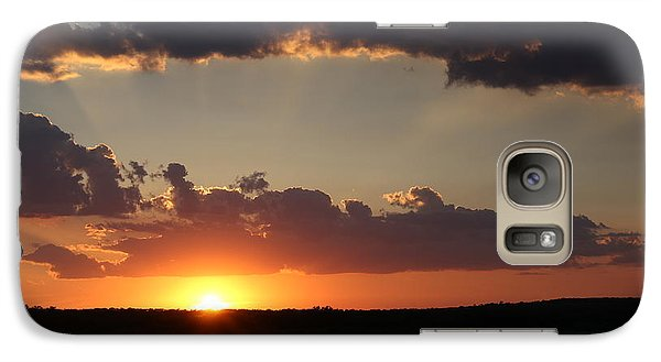 Galaxy Case featuring the photograph Sunset 2 by Elizabeth Budd