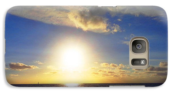 Galaxy Case featuring the photograph Sunset 2 by Ute Posegga-Rudel