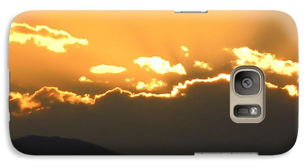 Galaxy Case featuring the photograph Sunset 3 by Ze  Di