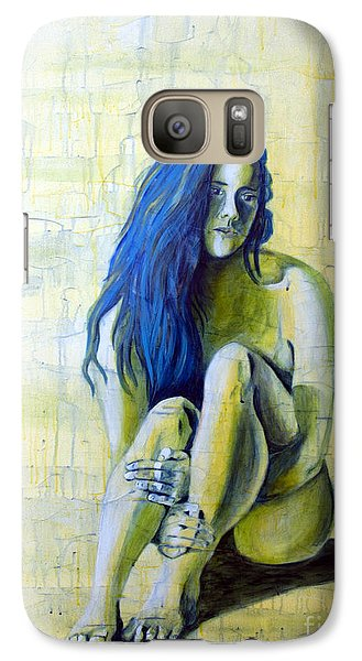 Galaxy Case featuring the painting Sunset 3of4 by Denise Deiloh