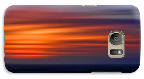 Galaxy Case featuring the photograph Sunset Abstract by Clare VanderVeen