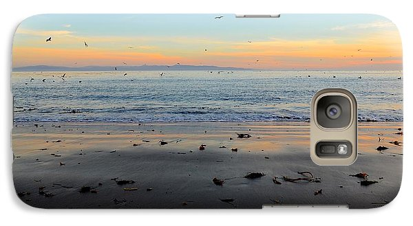 Galaxy Case featuring the photograph Sunset by Alex King